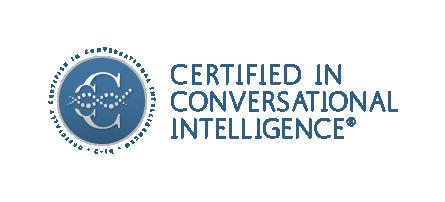 Kate Witteveen, Certified in Conversational Intelligence